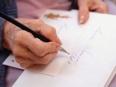 10. Use a ballpoint pen.