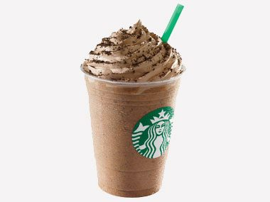 Starbucks' 24-Ounce Chocolate Cookie Crumble Frappuccino® Blended Beverage