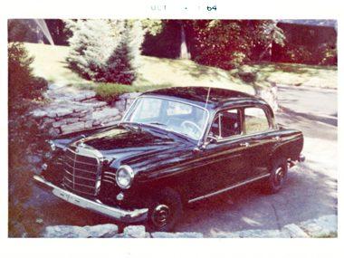 1962 Mercedes 202
