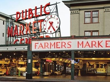 Chowder at Pike Place Market (Seattle)