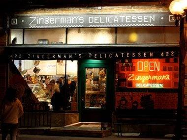 touristy restaurants, Zingerman's Delicatassen