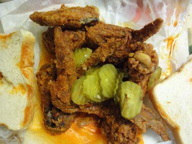 touristy restaurants, Prince's Hot Chicken Shack