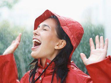 walking rut, raining