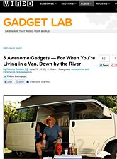 Wired Car Gadgets Recommends