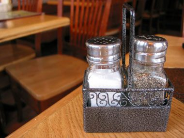restaurant secrets, salt and pepper