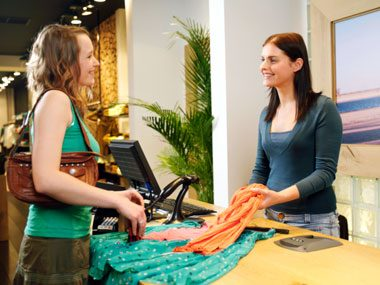 more sales clerk secrets, buying clothes