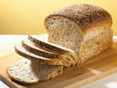 foods for brainpower, whole wheat bread