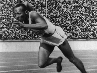 Olympic moments that changed history, 1936 Jesse Owens