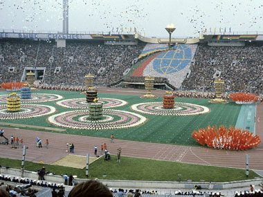 Moscow, 1980: U.S. boycotts, hosts alternate games