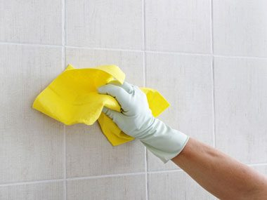 cleaning outrageous messes, shower