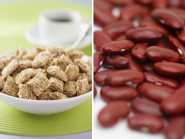 fiber quiz, shredded wheat or kidney beans