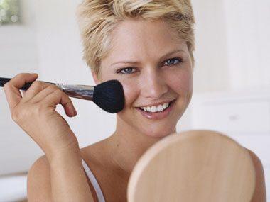 beauty tricks, morning makeup