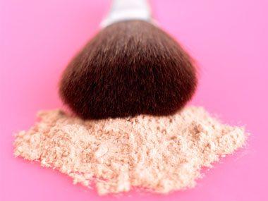 beauty tricks, powder
