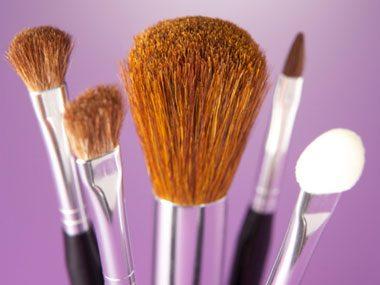 beauty tricks, brushes