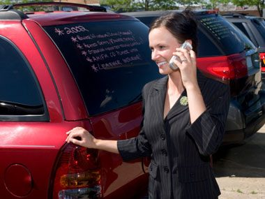 car dealer secrets, phone call