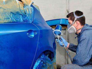car dealer secrets, painting car