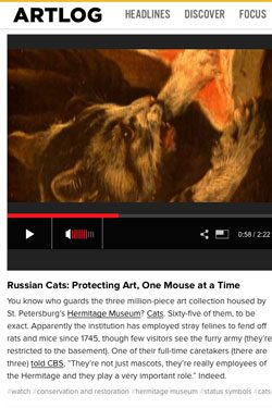 The Guardian Cats of St. Petersburg
