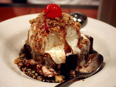 Answer: Chili's Brownie Sundae