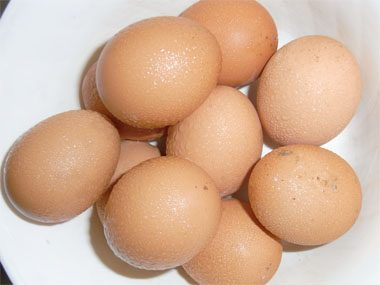 15. Oiled Eggs