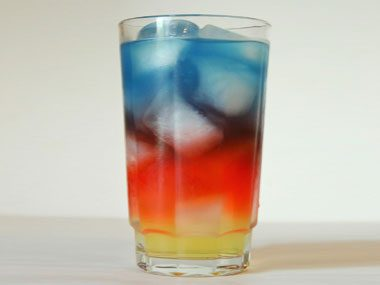 foodie things to try before summer ends, layered drink