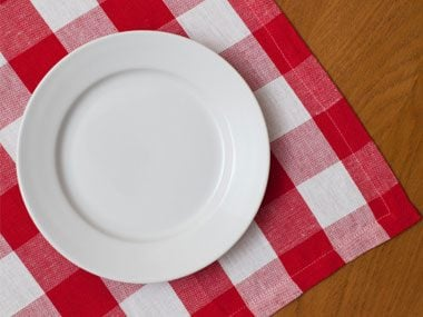 secrets of skinny chefs, empty plate