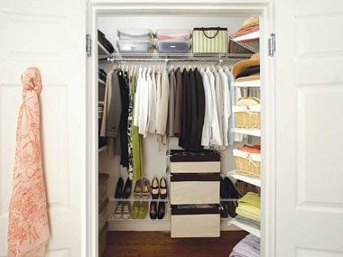 If you want to store your jewelry in a closet: