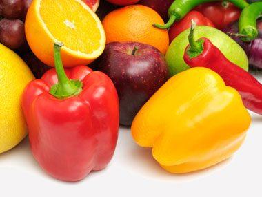 reverse diabetes, fruits and veggies