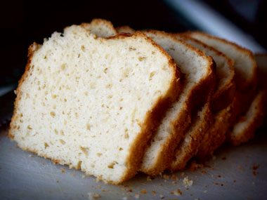 5. Keep frozen bread from getting soggy