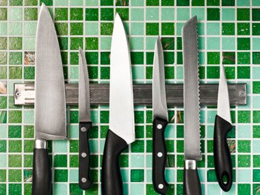 1. Of all the knives in the world, according to Bourdain which one do you REALLY need?