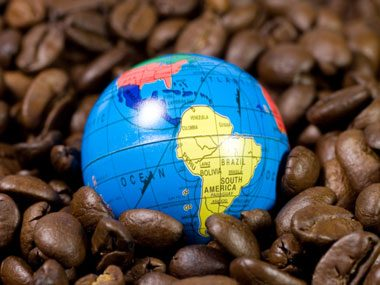 4. 40% of the world's coffee is produced by: