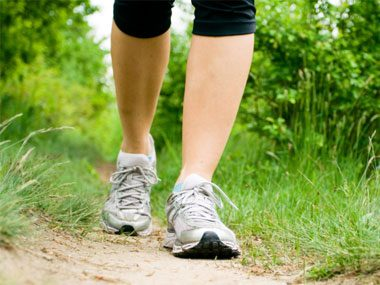 Paula Deen diet, walking