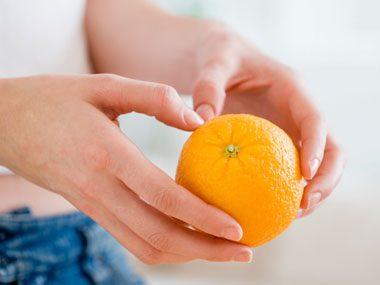 eating right quiz, orange
