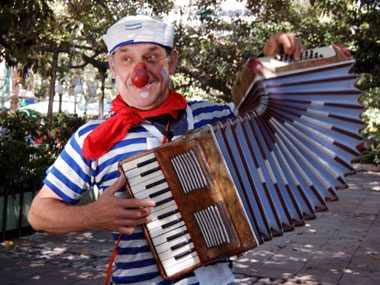 how not to interview, accordion player