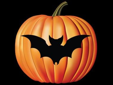 pumpkin carving stencils, bat
