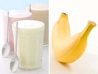 power food pairs for health, yogurt and banana