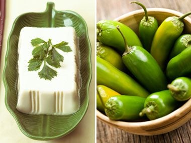 power food pairs for health, tofu and jalapenos