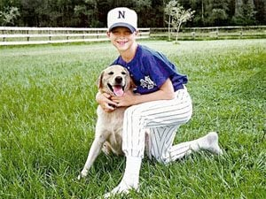 Dog Stories: Tim Tebow on Otis, His Comeback Dog