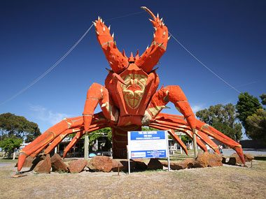 Enormous Lobster, Kingston, Australia