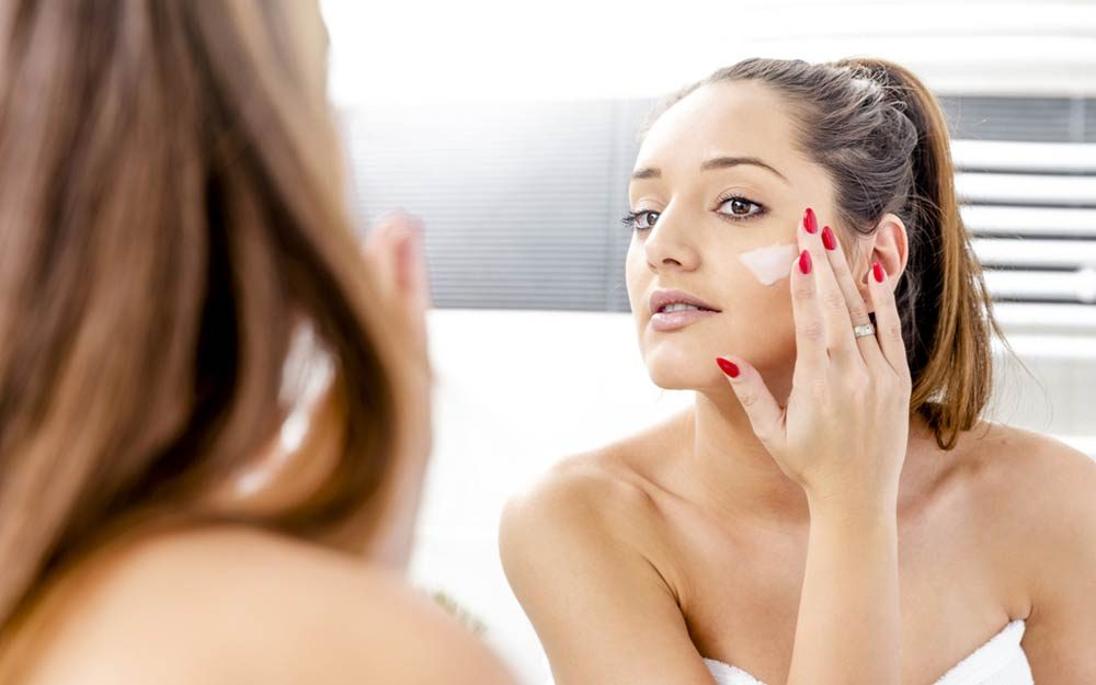 Image result for For Healthy, Great-Looking Skin, Combine Diet and Quality Skincare Products