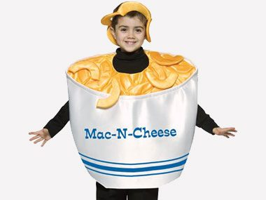 If your child wants to be: Macaroni and cheese