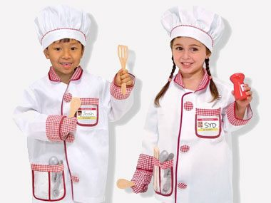 If your child wants to be a: Chef