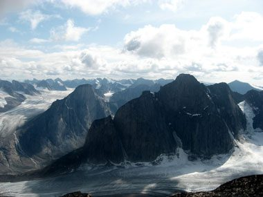 1. Steepest peak on Earth: Mount Thor, Nunavut, Canada