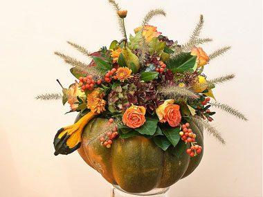Create flower arrangements