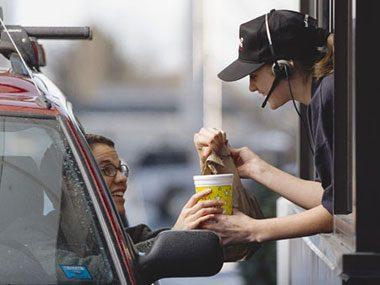 fast food worker secrets, drive through