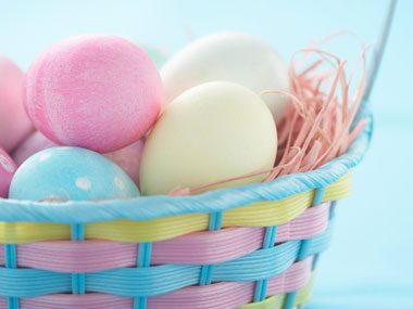 You can dye Easter eggs!