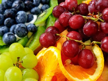colors can help weight loss, fruit