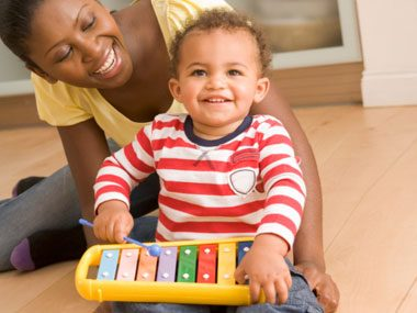 Baby brains thrive when kids play music.