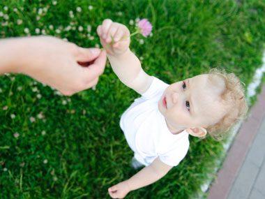 Little ones value altruism.