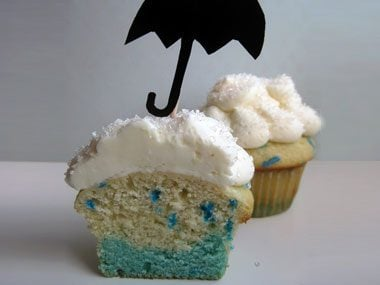 Rainy Day Cupcake