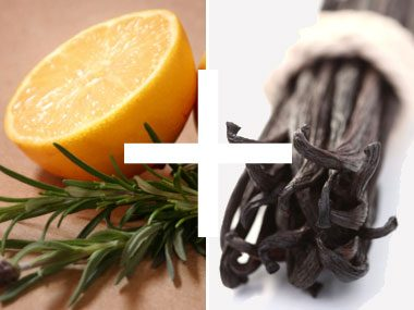 6. Lemon and thyme + vanilla = a delicious smelling home